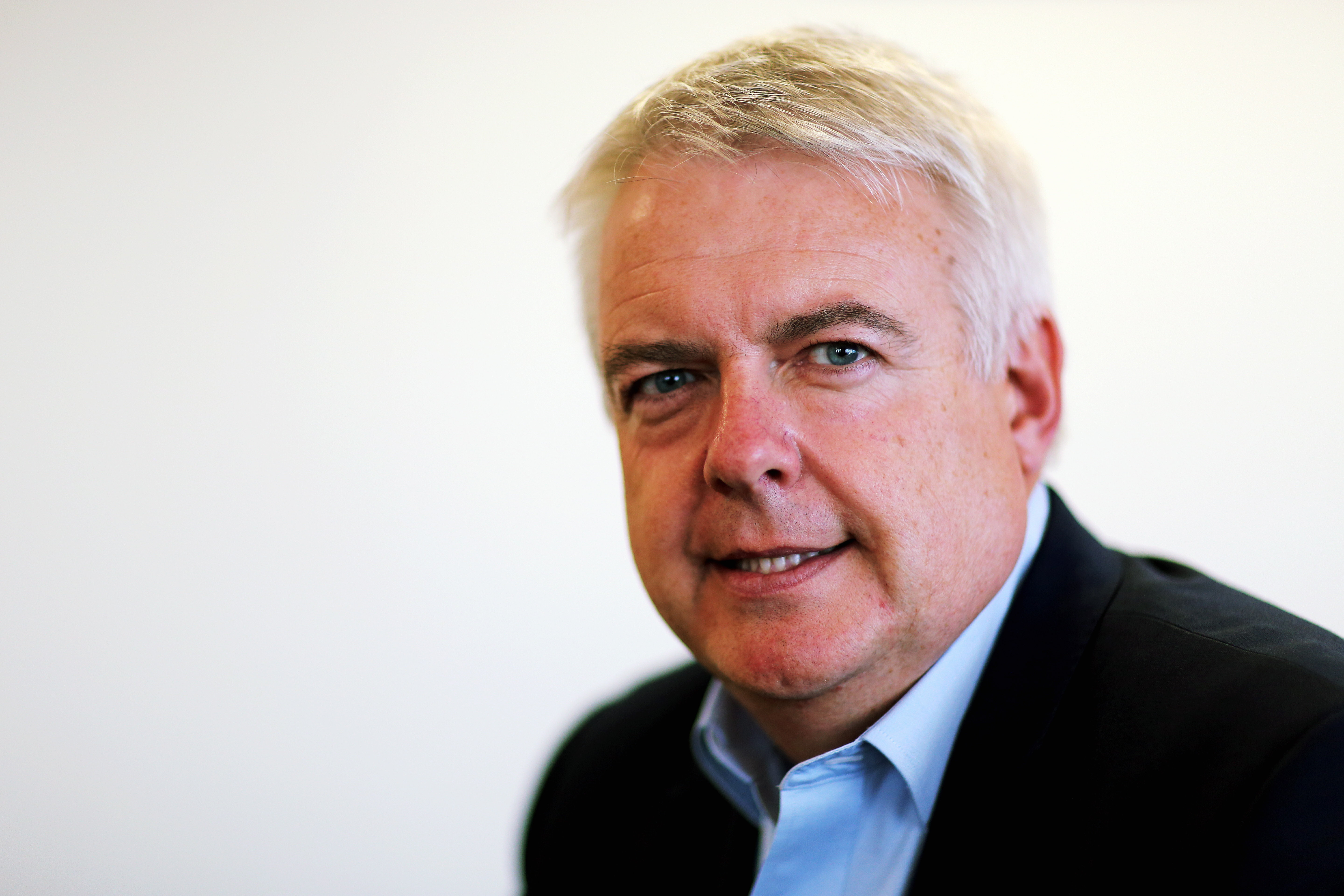 Mirst Minister for Wales Carwyn Jones in his office at the Ty Hywel building in Cardiff Bay, Wales, UK. STOCK PICTURE Re: First Minister for Wales Carwyn Jones has been having meetings with members of Welsh Labour.